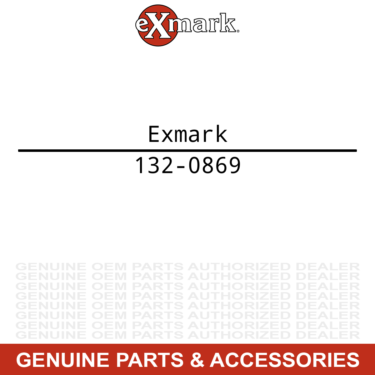 Exmark 110-6697 Exhaust Gasket Lazer Z AS Quest Vantage Turf Tracer E S X Series